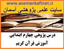170 - درس پژوهی پایه چهارم ابتدایی آموزش قرآن کریم