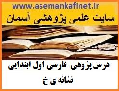 133 - درس پژوهی فارسی اول ابتدایی نشانه ی (خ)