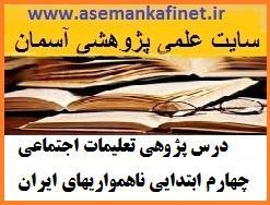 94 - درس پژوهی تعلیمات اجتماعی چهارم ابتدایی ناهمواریهای ایران