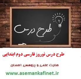 656- طرح درس روزانه کتاب فارسی دوم ابتدایی درس نوروز